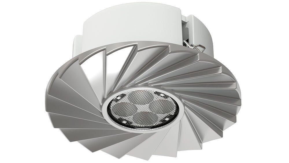 10x OSRAM LED Einbauspot Tresol 10W Silber dimmbar - Ersatz für 35W Halogen | Um Sowohl Die Qualität Der Zähigkeit Und Härte  | Fuxin  | Großartig