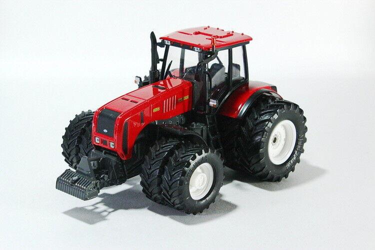 Scale model 1 43, MTZ-3522  MTZ-ELAZ  (8-wheel, all wheel drive. red)
