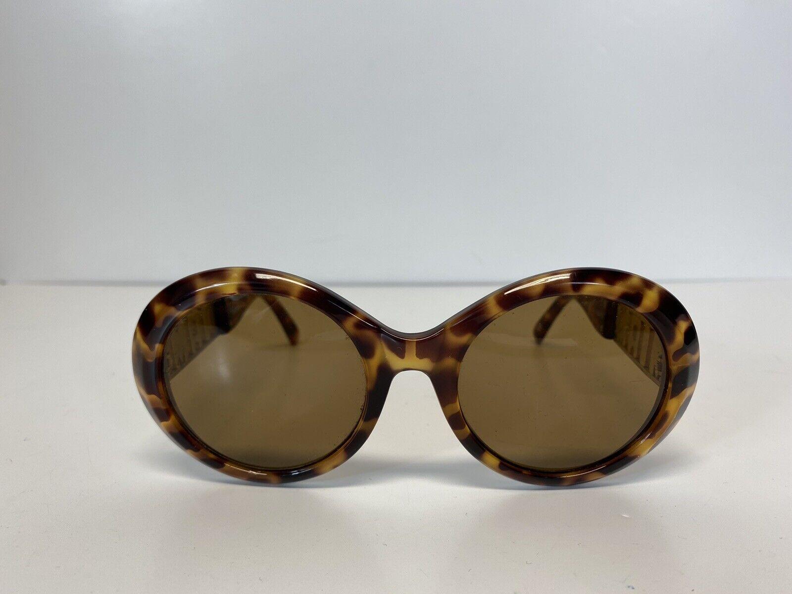 Rare Vtg Gianni Versace Brown 'Miami' Tortoiseshe… - image 2