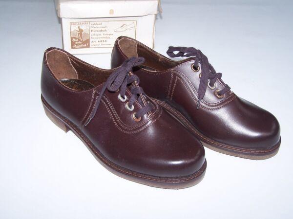 50er 60er Años Zapatos Vintage De Buena Steischuh Steicosan Nuevo Nº 69-ver Agradable Al Gusto