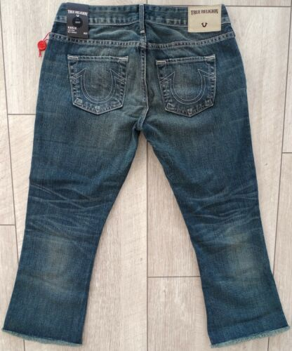 Rise Karlie inferiore Damen Campana Crop 3 4 True Neu Gr 27 Jeans Capri Religion Low xIn5Y54q