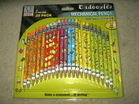 Zebra Cadoozles Mechanical Pencils 0.7mm Pencil Cadoozle 28-pks 2 0.7 Mm