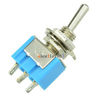 5PCS Mini 6A 125VAC SPDT MTS-102 3 Pin 2 Position On-on Toggle Switches Practic