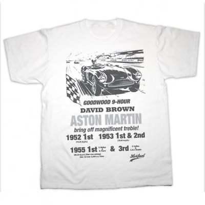 Herrenmode Hotfuel Clothing Company Aston Martin Goodwood Classic Racing Car T Shirt Adult Kleidung Accessoires Drukgreen Bt