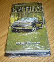 2016 Dodge Ram User Guide Owners Manual Set W/case 16 Dvd 1500 2500 3500