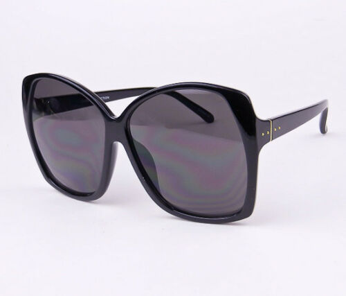 Retro Oversized XL Large Lux Glossy ELIA Square Jackie O Butterfly Sunglasses L