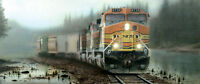 Jigsaw Puzzle Train Giants In The Mist 1000 Pieces Made In The Usa