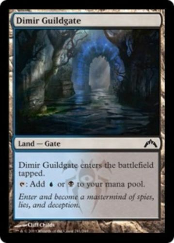 NM//LP 4 Dimir Guildgate Gatecrash mtg x4 4x