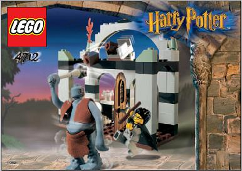 LEGO 4712 - HARRY POTTER - TROLL ON THE LOOSE - 2002 - NO BOX