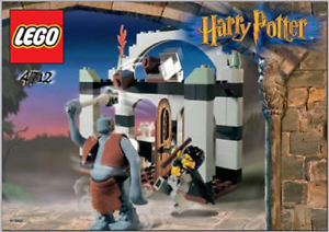 NO BOX 2002 TROLL ON THE LOOSE HARRY POTTER LEGO 4712