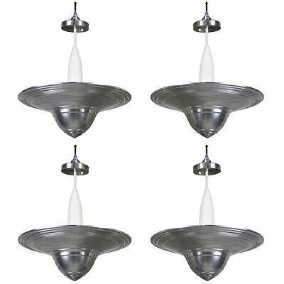 the best attitude ab536 adc40 Rare 1950s Machine Age Set of Aluminum Pendant Lights by  Westinghouse-REDUCED   eBay