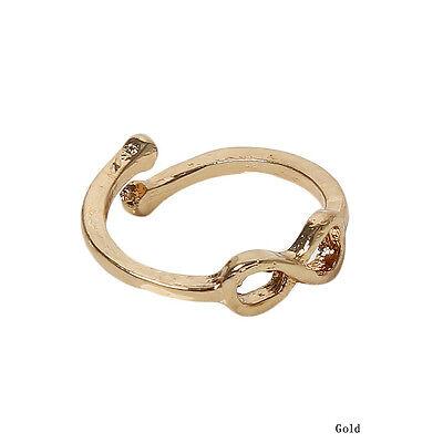 Neu Damen infinite Zehenringe einstellbare Zehen ring Fuß ring Toe Ring Schmuck