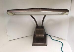 Vintage-Goose-neck-Desk-Lamp-Fluorescent-Light-Retro-Industrial