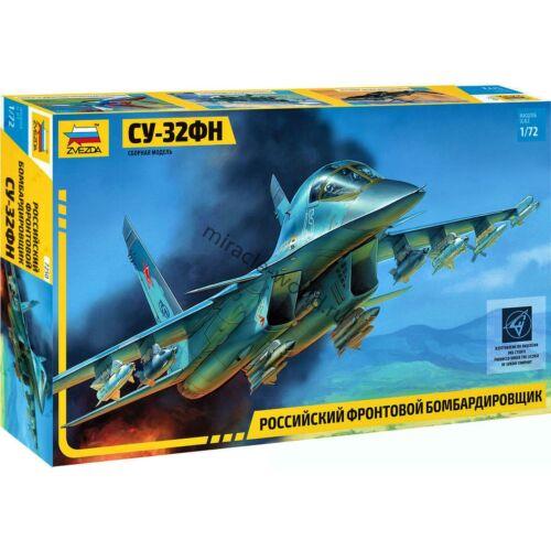 """Su-34 /""""Fullback/"""" Zvezda 7250 Su-32FN Sukhoi //russian fighter-bomber// 1//72"""