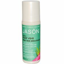 Jason Aloe Vera Roll On Deodorant Natural Long Lasting Aluminium & Paraben Free
