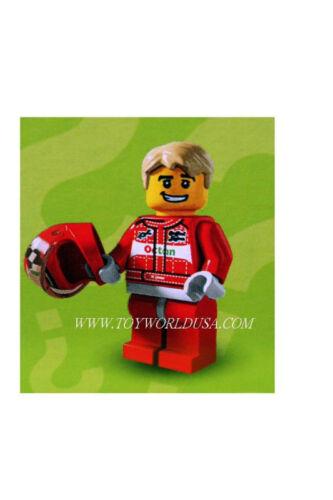 Lego Mini Figure #8803 RACECAR DRIVER Series 3