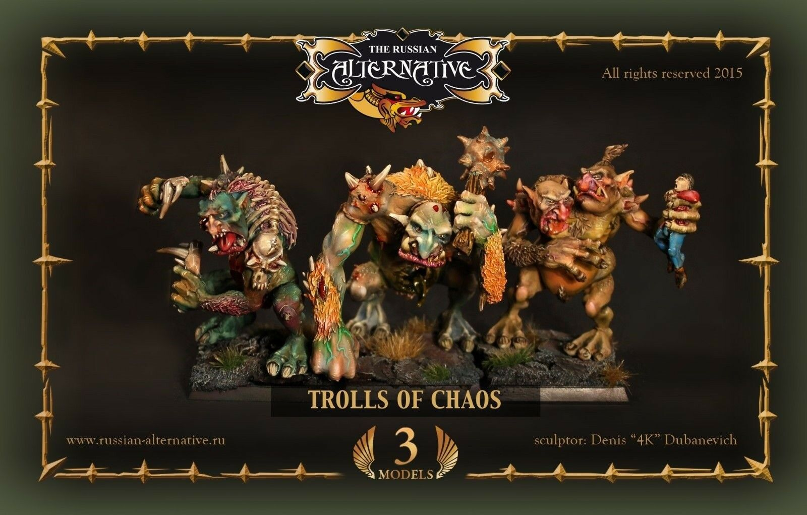 Trolls of Chaos Russian Alternative RESIN