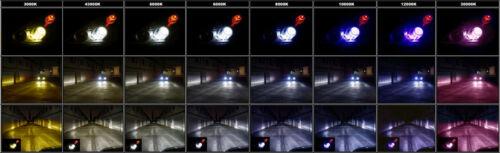 HID Kit Xenon Headlight H1//H3//H4//H7//H11//9004//9006//9007 Xentronic All Color xeno