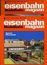Eisenbahn Magazin Modellbahn --1991--Ausgabe 1+2 -- 2 Stück -