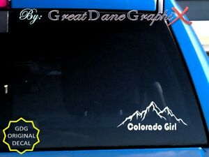 Colorado-Girl-Mountains-Style-3-Vinyl-Decal-Sticker-Color-HIGH-QUALITY