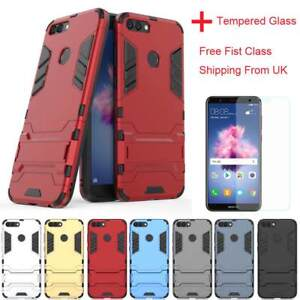 new product e45fd 299e1 Hybrid Shockproof Silicone armor cover Stand Hard case For Huawei P ...