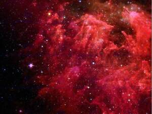 RED-FAR-AWAY-GALAXY-SPACE-PHOTO-ART-PRINT-POSTER-PICTURE-BMP2061B