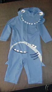 swim suit set by M/&S *NEW+TAGS* Boys age 18-24 month UPF 50