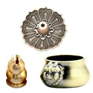 Retro-Brass-Incense-Burner-Holder-For-Incense-Stick-Coil-Bottle-Gourd-Shaped-New