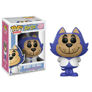 Funko-POP-Animation-Hanna-Barbera-S4-Vinyl-Figure-BENNY-THE-BALL-New