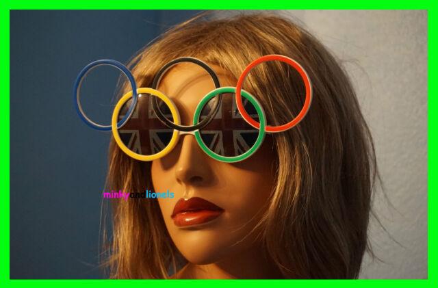 f175420c394 Olympic Sunglasses With Union Jack Lenses Fancy Dress Novelty Unisex Glasses