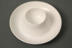 Rosenthal-White-Egg-Cup-Tray-Plate-Eggs-Serviceteil-Tableware-4-5-16in