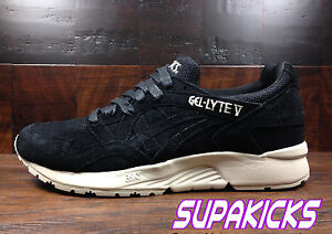 premium selection 14ca2 6fbf7 Details about Asics GEL-LYTE V 5 (Black / Off White) [H736L-9090] Classic  Running Mens