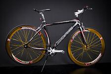 "28"" Zoll Alu Fahrrad Singlespeed Fitness Bike Rennrad Fixie FIXED GEAR schwarz"