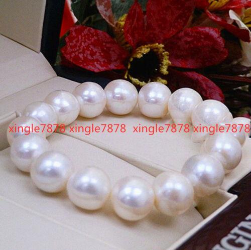 """9-10 mm Genuine Natural 3 Color Freshwater Cultured Pearl Bracelet Bangle 7.5/"""""""