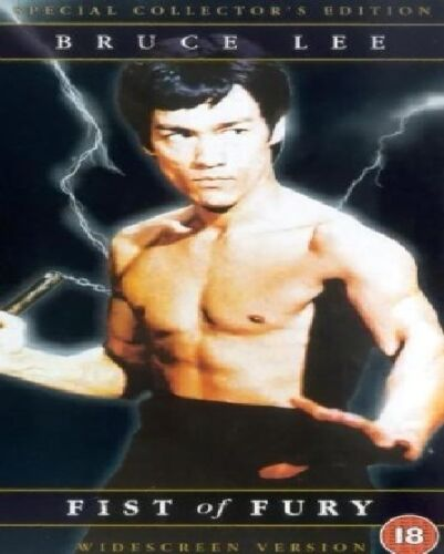 1 of 1 - THE FIST OF FURY DVD SPECIAL COLLECTOR'S EDITION Bruce Lee Brand New Sealed UK