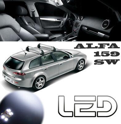 2 ampoules à LED blanc lumière plafonnier pour Alfa Romeo 147 156 166 GT Mito