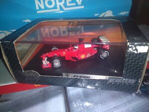F1-2000-RACING-Rubens-Barrichello-HOT-WHEELS-RACING-1-43-NEUVE-EN-BOITE