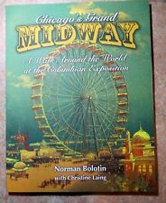 1893 WORLD'S COLUMBIAN MIDWAY BOOK AUTOGRAPHED--TERRIFIC TEXT/100+ PHOTOS