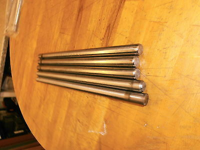 5x Titan Ø11 Grade 5 (TiAl6V4) - ca. 210mm lang
