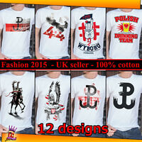Polish T shirts Patriotic Drinking Team Polska Poland Husaria Stopro  S M L XL