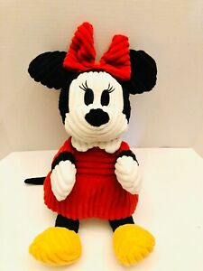 Authentic-Disney-Parks-Minnie-Mouse-18-Ribbed-Curduroy-Plush-Stuffed-Toy