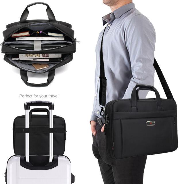 05fbd172f382 Waterproof Business Laptop Messenger Bag Case for Men/Women fit 15.6 inch  Tablet