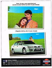 PUBLICITE ADVERTISING 045  1998  NISSAN PRIMERA