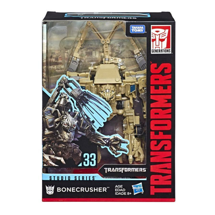 100% Hasbro Transformers Studio Series Voyager Class Bonecrusher NEW