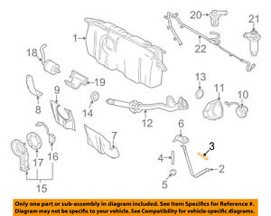 FORD OEM Fuel System-Support Strap Stud N808978S439