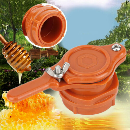 Plastic Nylon Bee Honey Food Gate Valve Tap Beekeeping Bottling Extractor Tool