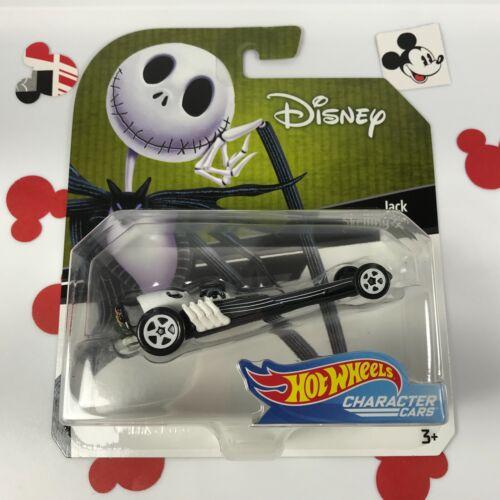 Hot Wheels JACK SKELLINGTON Brand NEW! Disney Character Cars