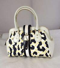 Authentic GWEN STEFANI! L.A.M.B Multi Monogram Speedy Satchel Purse Handbag