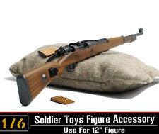 1/6th Dragon WWII Army Karabiner Kar.98k CARBINE Rifle Clip Gun Model Sandbag