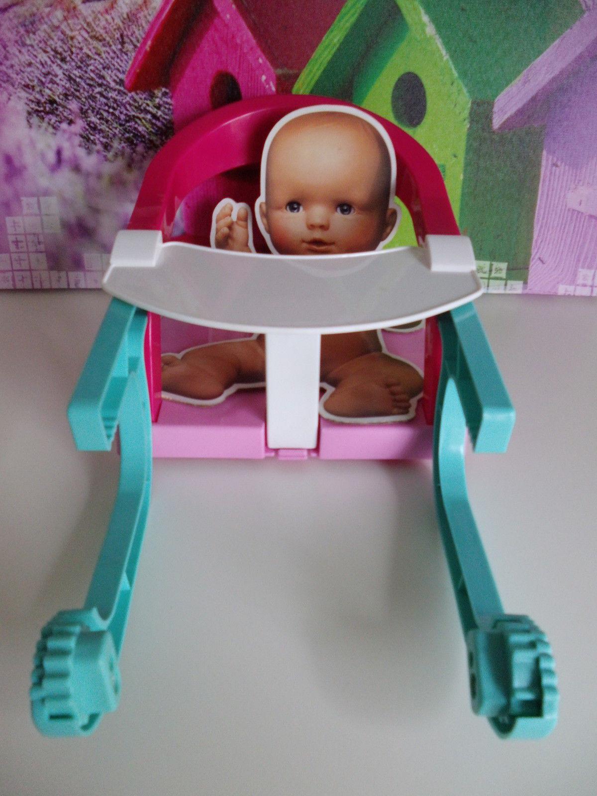 Restposten 20 stk. Kinder Spielzeug Bad und Fütterstuhl Für Puppen Sonderposten